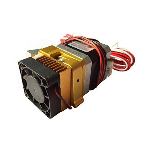 AptoFun MK8 Metal Extruder mit 0.4mm Düse für 3D Printer Reprap Mendel MakerBot, Prusa i3 & Rework Kompatibel mit 1,75 mm ABS und PLA Filament -