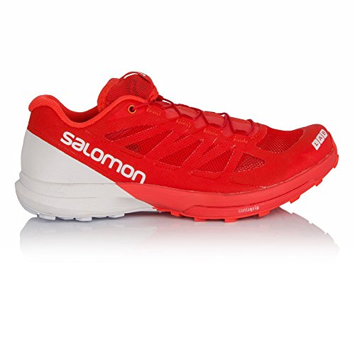 Salomon S-Lab Sense 6, Chaussures de Trail Mixte Adulte, Rouge, 4 UK