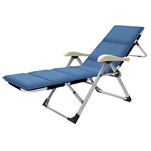 Chaises pliantes HUYP De Plage Bleue Chaise De Plage 184cm Bureau Nap Loisirs