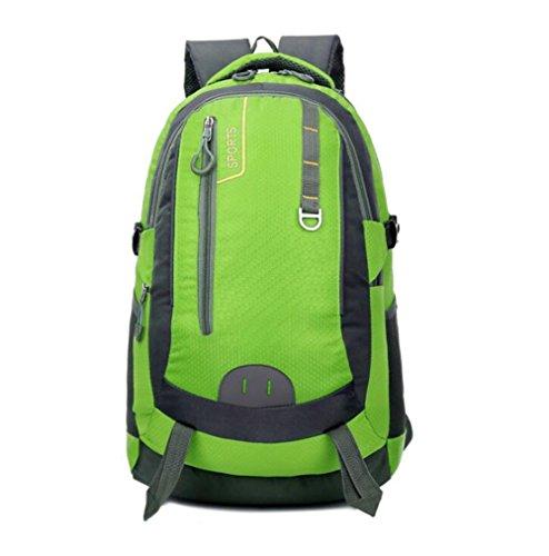 Wmshpeds 40L alpinismo Borsa viaggio di piacere in borsa in nylon capacità grande zainetto D