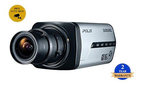 SS379 - SAMSUNG SNB-3002 4CIF Wide Dynamic Range NETWORK CCTV-Box-Kamera POE H.264, MPEG-4, MJPEG Aufzeichnung in hoher Qualität -
