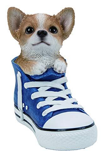 Vivid Arts SS-HUAH-F Hundespielzeug in Sportschuhen/Chihuahua für Haus oder Garten