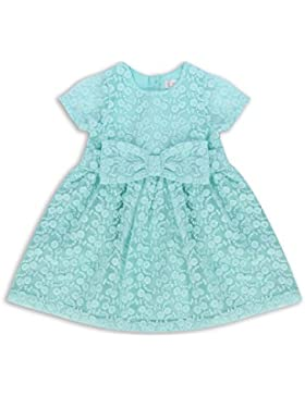 The Essential One - Bebé Infantil Niñas - Vestido de Princesa Fiestas - Verde - EOT379