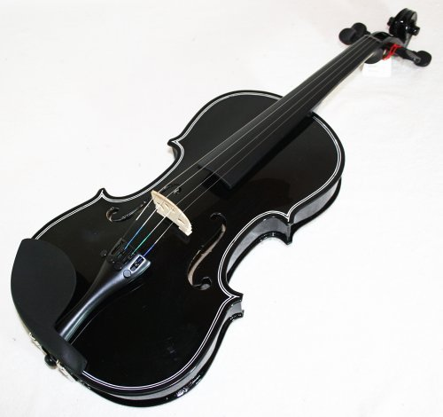 Cherrystone 4260180880953 4/4 Geige/Violine und Koffer Gurt Bogen schwarz