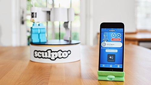 Sculpto+ 3D Drucker, komplett montiert mit Wi-Fi, iOS und Android Konnektivität - Lautlos - Plug&Play Drucker, großen Bauvolumen - 2