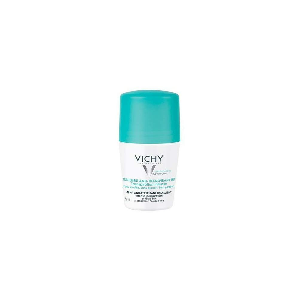 Vichy 48 Hour 'No-Trace' Anti-Perspirant Deodorant Roll On 50ml