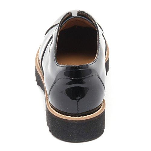 B6110 scarpa donna HOGAN H259 ROUTE ELASTICO scarpe nero shoe woman Nero