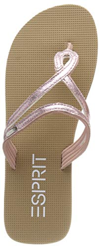 ESPRIT Damen Glitter Loop Pantoletten Pink (Old Pink 680), 39 EU