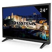 "TD Systems K24DLM7F - Televisores Led 24"" (Resolución Full HD, HDMI, VGA, USB Reproductor y Grabador. Tv Led TDT HD DVB-T2)"
