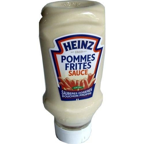 Heinz Pommes Frites Sauce (430g Kopfsteher Flasche)