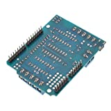 ULIAN Arduimo moduli di accesso/sensori L293D Scheda di espansione scheda scheda scorrimento motore (per Arduino) Duemilanove Mega UNO