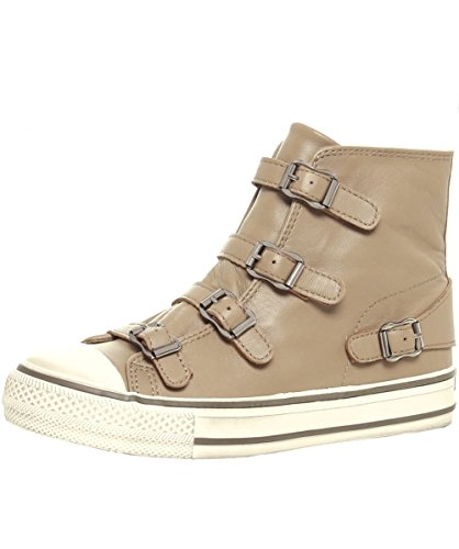 Ash Women's Virgin High Top Trainers UK 4 Taupe