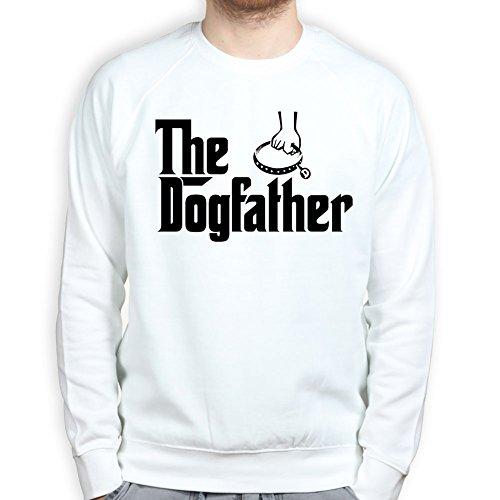 TheDogFatherSweatshirtWHT3XL XXXL White (Vinyl-hundebox)