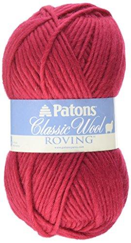 Spinrite - Classic Wool Roving Yarn, Cherry