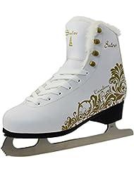 sulov Paire de patins à glace pour femme
