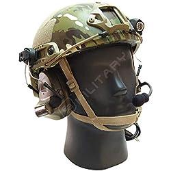 ELITE BAGS Casco Militar Profesional Fast, Camuflaje Multicam Balístico