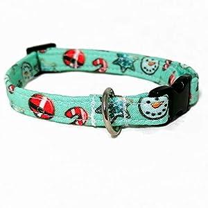 Katzenhalsband – Weihnachtsplätzchen
