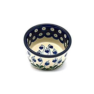 Polish Pottery Ramekin – Bleeding Heart