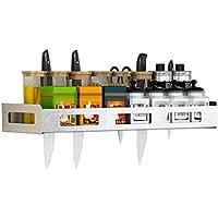 Racks de Especias Sujetador de Cuchillo Escurridores de Platos Rejillas de  Secado de Platos Montado en 62c6af5a555a