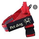Dog Brustleine Rushingproof weiches Nylon geflochtenes strapazierfähiges Haustierseil Hundeleine mit reflektierendem Gurtband für kleine mittelgroße Hunde