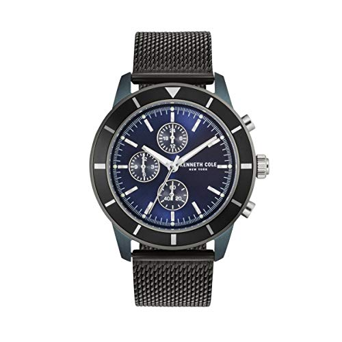 Kenneth Cole New York Reloj de Hombre Reloj de Pulsera Acero Inoxidable kc50573001