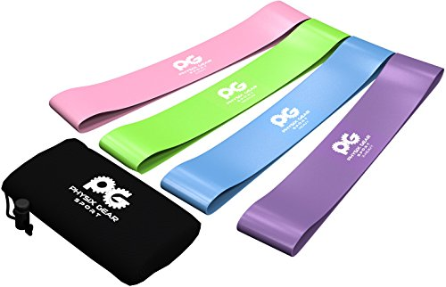 Physix-Gear-Sport-Unisex-4-Resistance-Loop-Set-4-Best-Home-Fitness-Exercise-Bands-for-Legs-Crossfit-Workout-Physical-Therapy-Pilates-Yoga-and-Rehab-Improve-Mobility-and-Strength-Purp-Grn-Blu-Pnk-Set-o