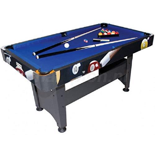 Billardtisch Chicago Poolballs 5ft, Billard, Billard-Spiel, Spieltisch, Poolbillard