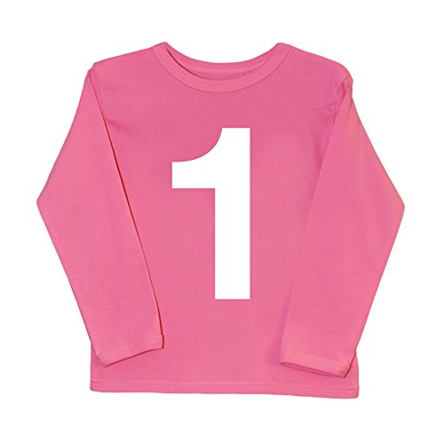 I AM 1 Pink First Birthday T Shirt | Cool Baby T-shirts, used for sale  Delivered anywhere in UK
