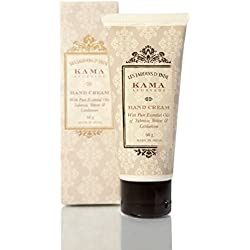 Kama Ayurveda Hand Cream with Pure Essential Oils of Tuberose, Vetiver and Cardamom, 60g