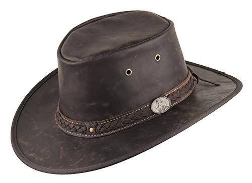 Scippis - Chapeau western - Homme Marron Marron