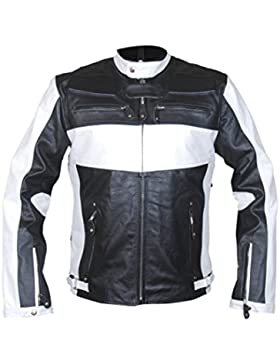 Leatherly Chaqueta de hombre Fast And Furious 7 Vin Diesel Cuero Chaqueta Negro