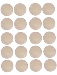 WODISON Womens Nipple Covers Klebstreifen Petals Stain Runde Form (10 Paar)