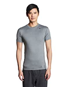 Nike Core Compression Mens T-Shirt - M/48-50, Black (Carbon/Black)