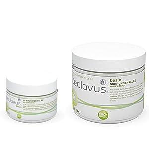 Peclavus Basic Schrundensalbe Propolis u. Canaubawachs, Salbe gegen Hornhaut und Risse an der Fußhaut,
