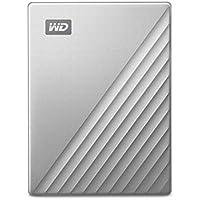 Wd 2 Tb Unità Portatile My Passport Ultra For Mac, Pronto per USB-C, Argento