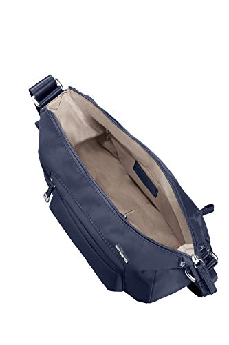 Samsonite Move 2 Shoulder Bag S + 1 Pock Borsa Messenger, 27 cm, Dark Brown DARK BLUE