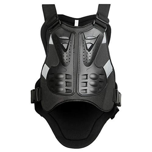 Gilet Protettivo per Moto Protezione del Torace Proteggi la Schiena Gilet di Protezione Sci Giacca Protettiva per Bicicletta Protezione per il Corpo Flessibile e Robusta
