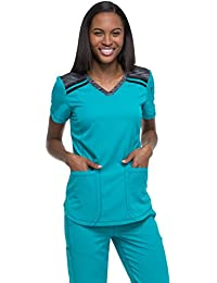 Dickies Dynamix col en V pour Femme Solide Scrub Top 65f201ebcce4