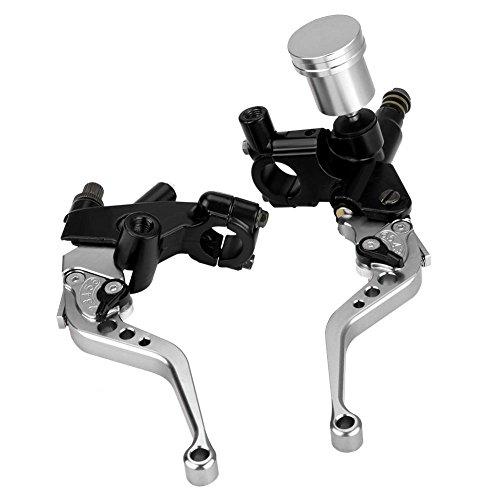 Leva del freno pompa freno cilindro freno leva frizione scooter motorino moto quad ATV specchio supporto M8