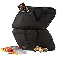 m4b: Harley-Davidson Road King, Road-, Street- & E-Glide valise en plastique: Poches intérieures / sacs intérieurs pour valises latérales