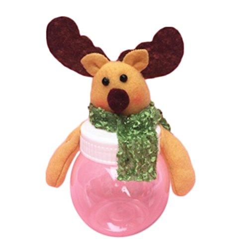 Westeng christmas candy jar gift pot decorazione divertente di babbo natale candy storage box bring joy to christmas