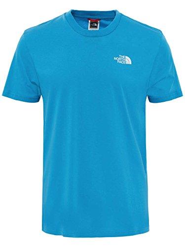 The North Face Herren T-Shirt Simple Dome Blau (Asche blau)