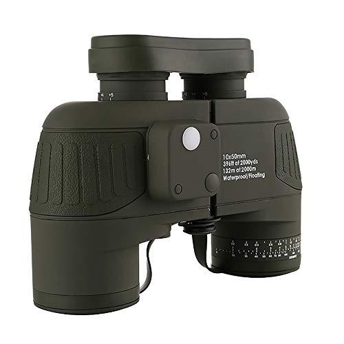 TONGTONG Fernglas 10x50 Professionelle Marine Fernglas Wasserdichte Digital Compass Jagd Teleskop High Power LLL nachtsicht