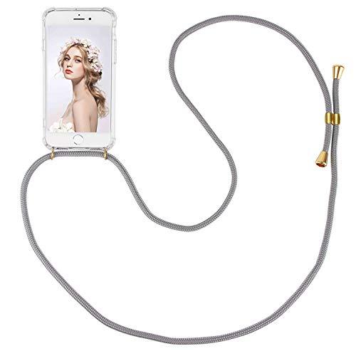 ülle für iPhone 6/6S Necklace Hülle mit Kordel zum Umhängen Silikon Handy Schutzhülle mit Band - Schnur mit Case zum umhängen ()