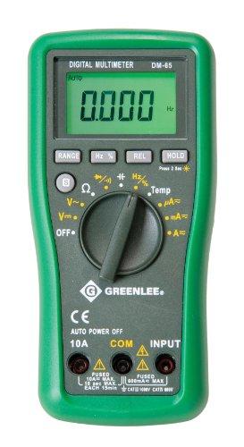 Preisvergleich Produktbild Greenlee dm-65 CATIII 1000 V cativ600 V Auto Digital-Vielfachmessgerät