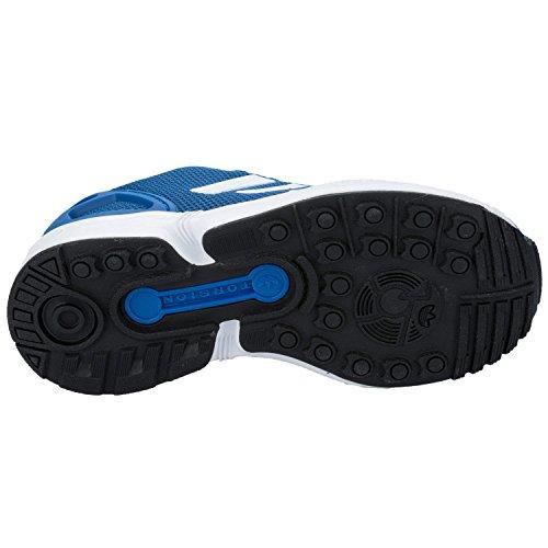adidas Originals Unisex-Kinder Zx Flux Low-Top Blau