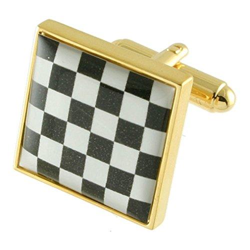 collegamenti-del-bracciale-oro-masonicmassonebandiera-a-scacchimarciapiede-board-gemelli-fatto-a-man