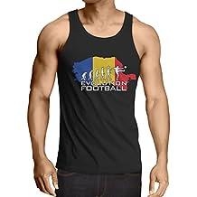 N4514V Camiseta sin Mangas Evolution Football - Romania