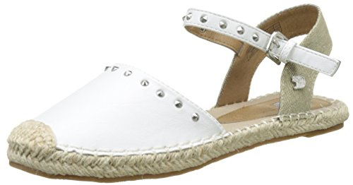 Tom Tailor Damen 2795607 Espadrilles, Weiß (White), 41 EU
