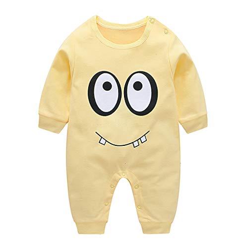 i-uend Neugeborene Baby Kleidung Baby Langarm Top Baby Karikatur Overall Neugeborene Kinder Baby Jungen Mädchen Outfits Kleidung Strampler Bodysuit